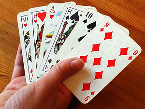 Kartenspiele Spielen
