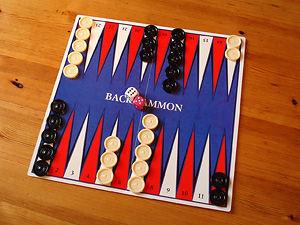 Spielanleitung Backgammon